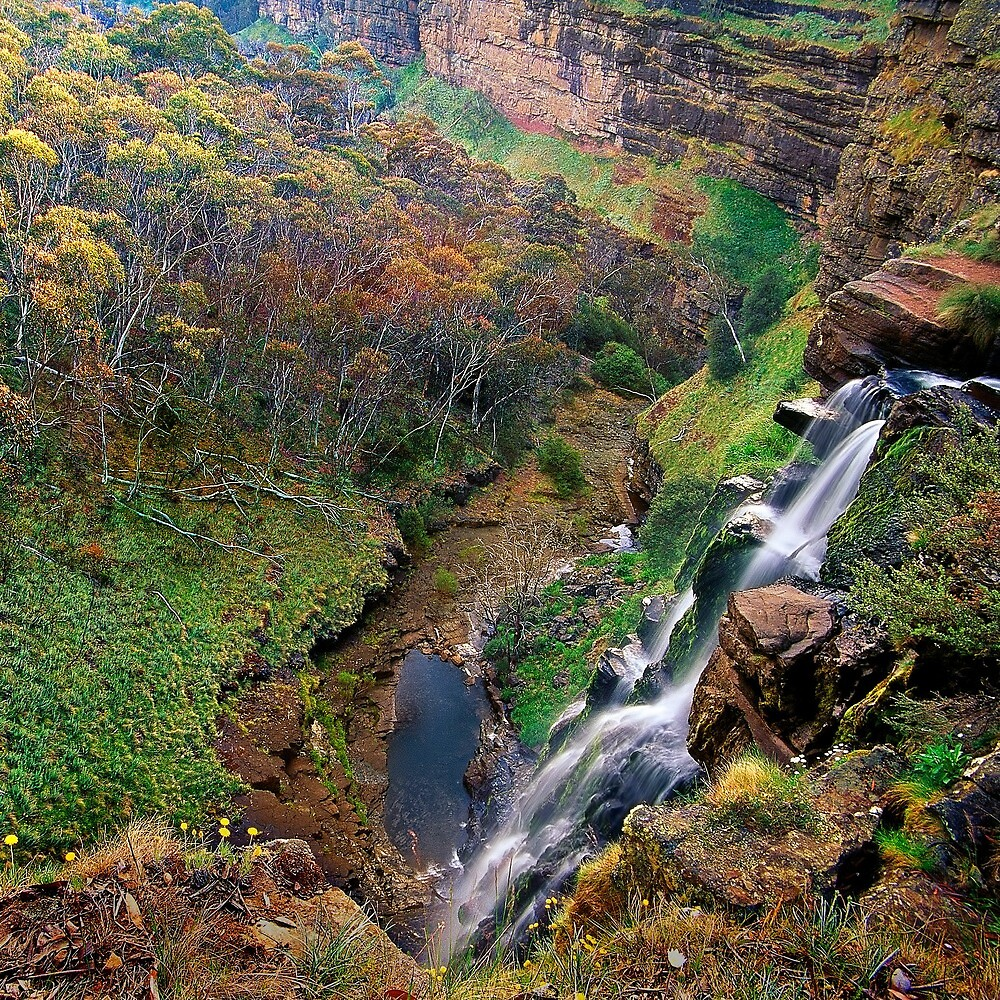 Conglomerate Falls, Bryces Gorge by Kevin McGennan