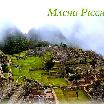 Machu Picchu by happyTshirt
