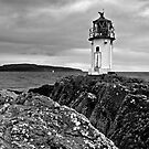 Isle Of Bute - The Lighthouse by Kevin Skinner
