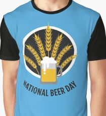 National Beer Day - Beer Day Shirt Graphic T-Shirt
