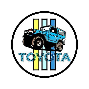 Toyota Sticker by roccoyou