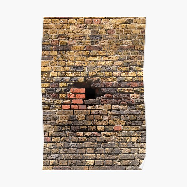 Another Brick in the Wall (portrait) Poster