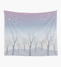 Winter Nature Wall Tapestry
