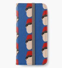 The 11th Doctor (Faceless Faces Series) iPhone Wallet/Case/Skin