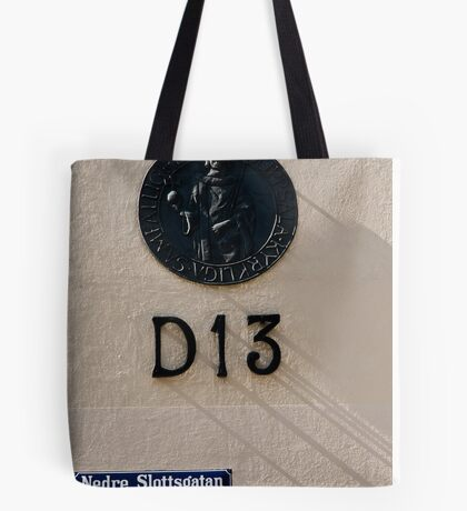 Numbers and Shadows Tote Bag