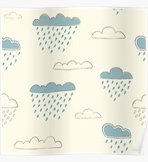 Lovely Clouds Poster