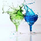 Double Splash  by Karen E Camilleri