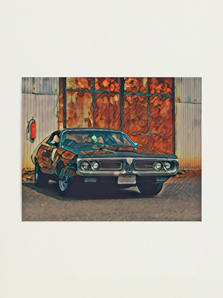 Alternate view of 1971 Dodge Charger 383 Magnum Photographic Print