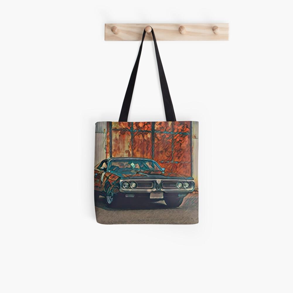 1971 Dodge Charger 383 Magnum Tote Bag