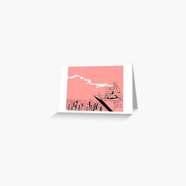City Smoke Greeting Card