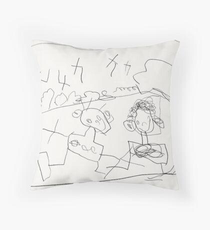 Park People Throw Pillow