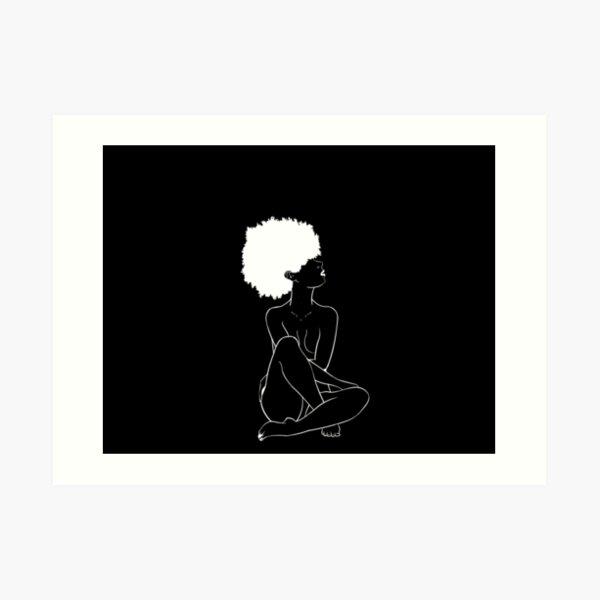 Black is Beautiful  Art Print