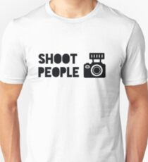 SHOOT PEOPLE Slim Fit T-Shirt