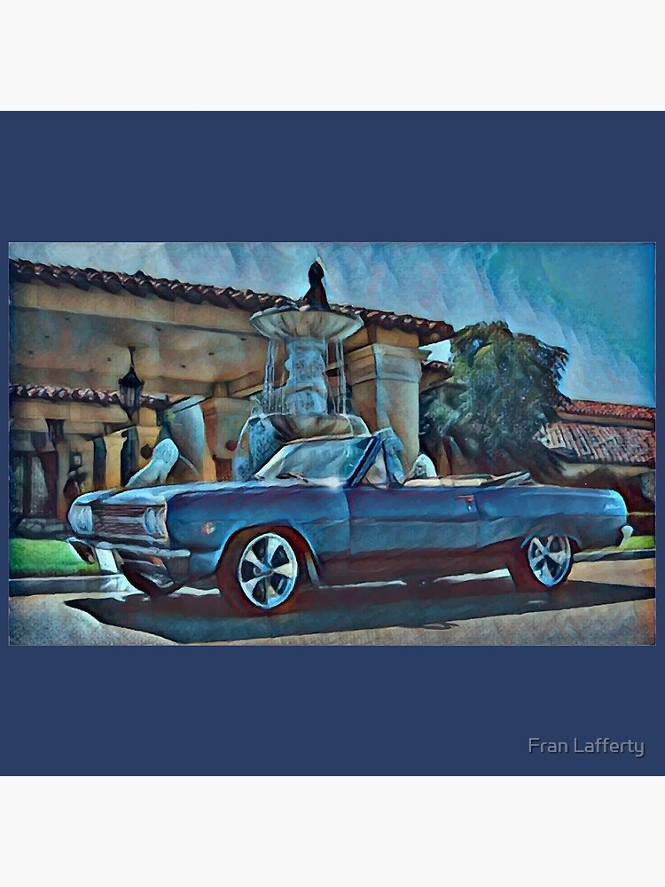 Classic Car Chevrolet Chevelle Convertible by FranLafferty