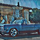 Classic Car Chevrolet Chevelle Convertible by Fran Lafferty
