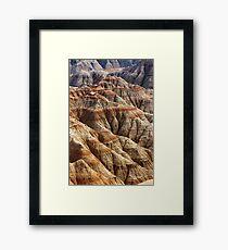 Badlands National Park Framed Print