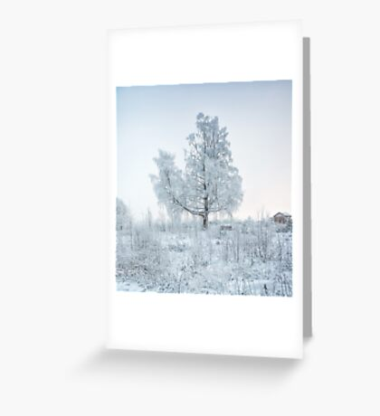 All is Still Greeting Card