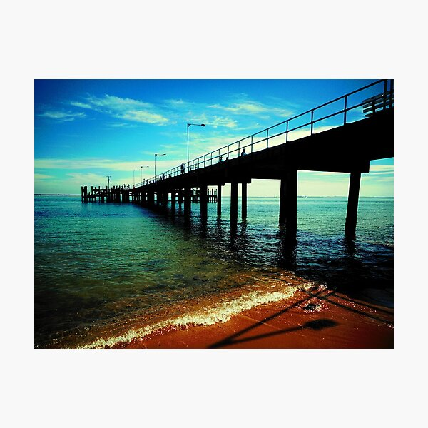 Phillip Island Pier Photographic Print