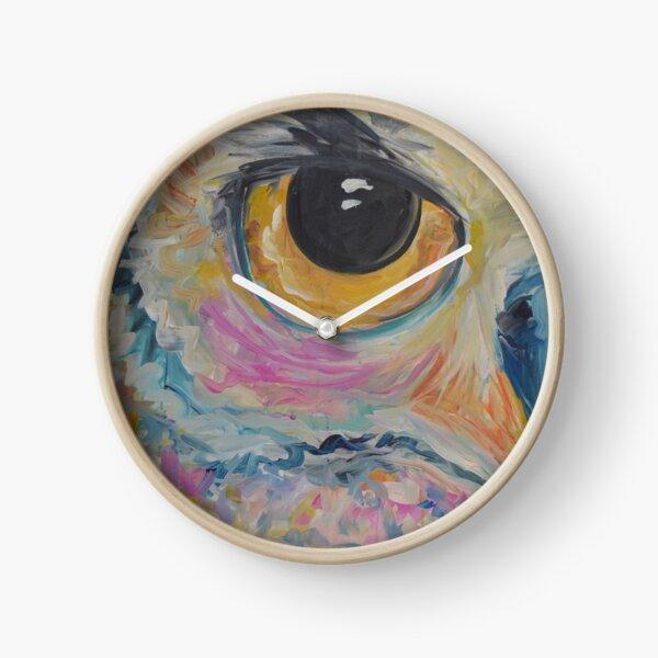 Owl Eye Clock