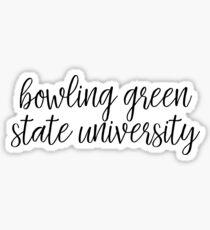 Bowling Green State University Sticker