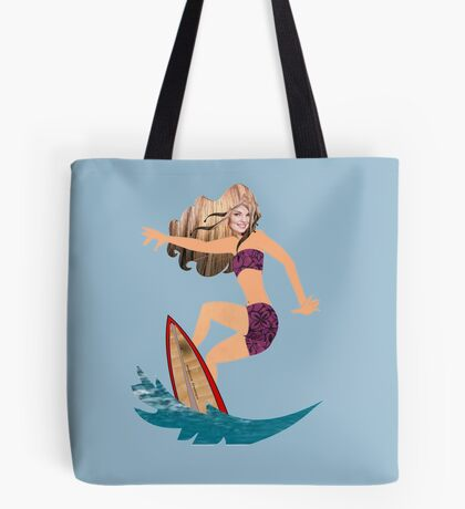 A surfer (4160 Views) Tote Bag