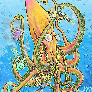 Octopus Trap Star by MUMtees