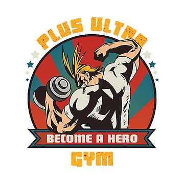 All Might Gym My Hero Academia by SenxCreations