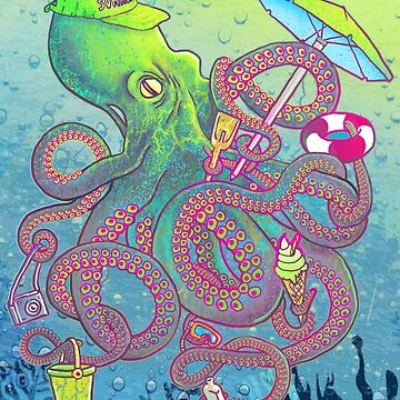 summer octopus by MUMtees