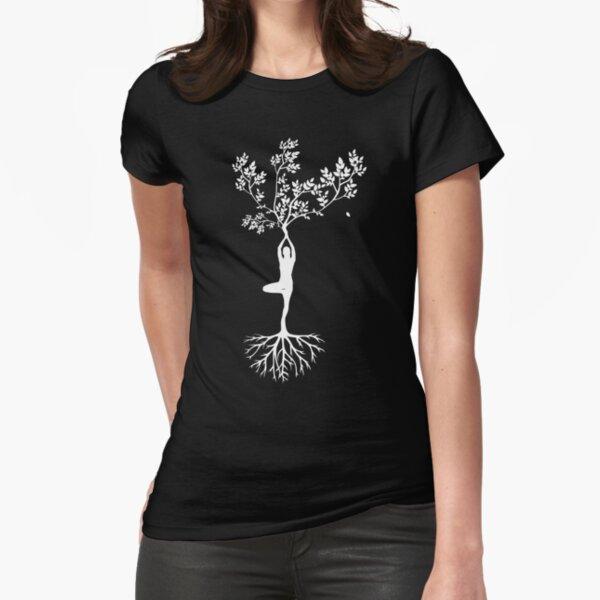Yoga Tailliertes T-Shirt
