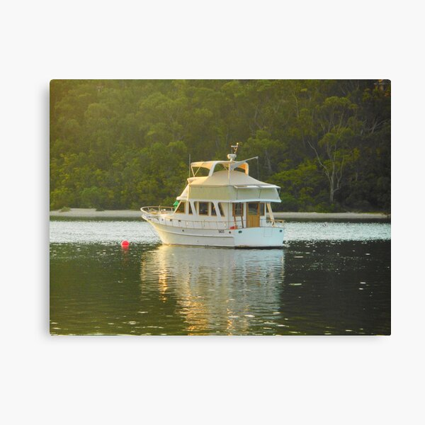 Wellington Boat Canvas Print