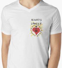 Always Lonely Men's V-Neck T-Shirt