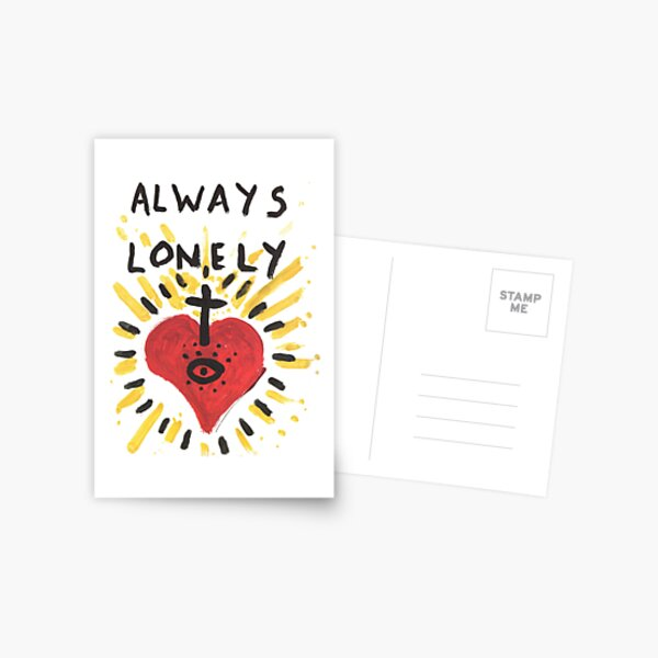 Always Lonely Postcard