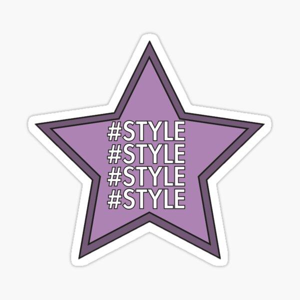 #Style Sticker