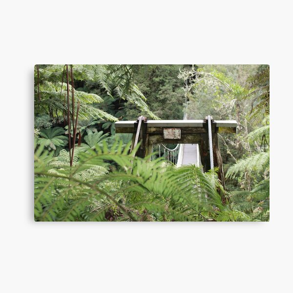 Tarra Valley Bridge Canvas Print