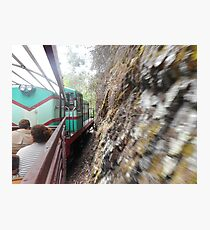Narrow Guage Train Photographic Print