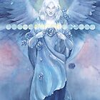 Blue Rose Angel by Janet Chui