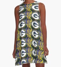 Green Bay Packers Ala Pollack A-Line Dress