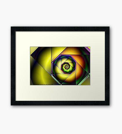 Simple Moebius Julia Framed Print