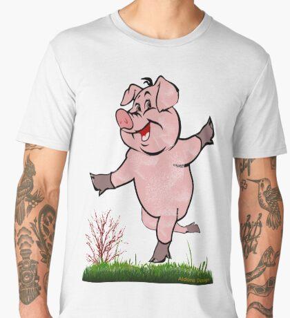 Bon Voyage -piggy is happy  (4787 Views) Men's Premium T-Shirt