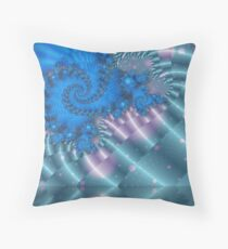 Dragon's Descent Throw Pillow