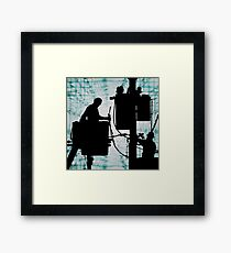 Linesman for the county Framed Print