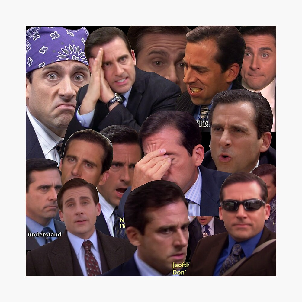 The Office Set Photographic Print