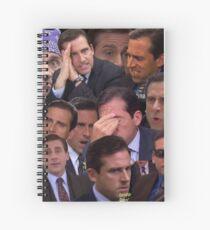 The Office Set Spiral Notebook