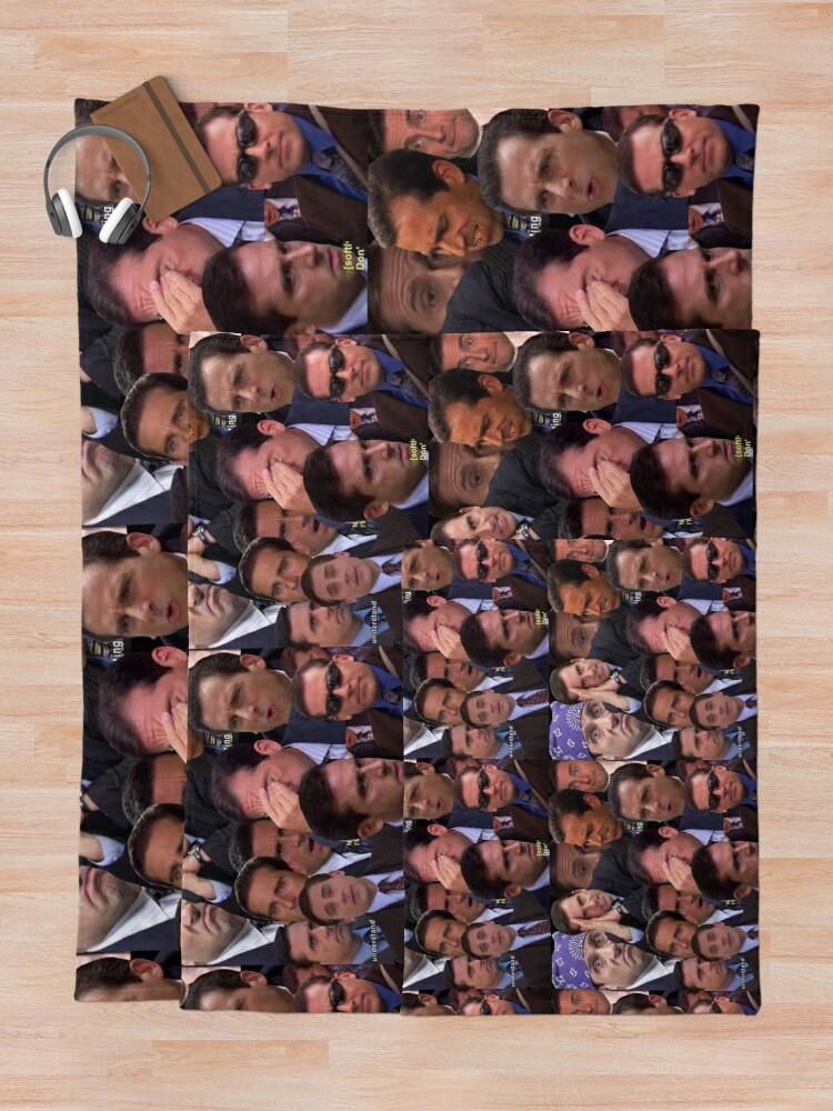Alternate view of The Office Set Throw Blanket