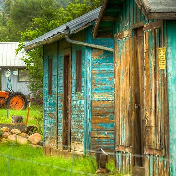 Blue Barn by BigRedCurlyGuy
