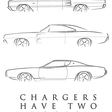 Chargers have two doors! by mal-photography