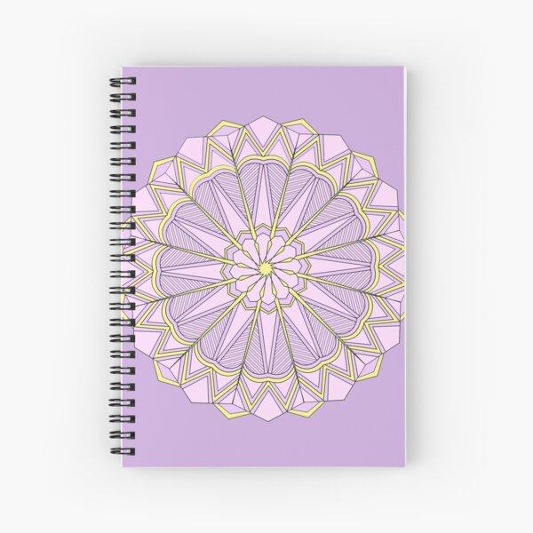 Lavender Mandala Spiral Notebook
