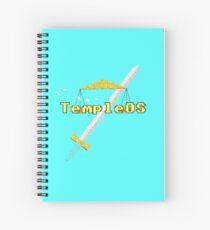 Temple OS Spiral Notebook