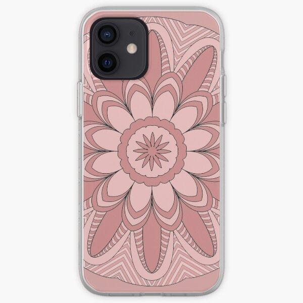 Rose Mandala iPhone Soft Case