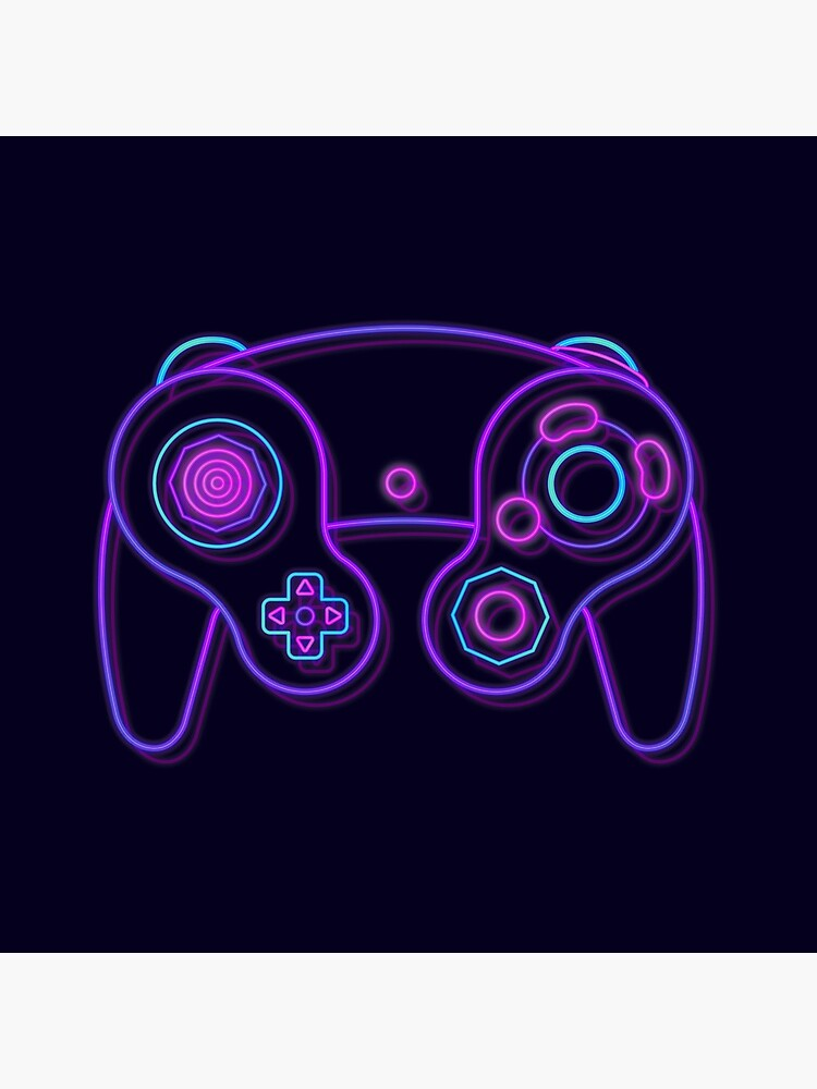 Neon Game Cube Controller by khatii